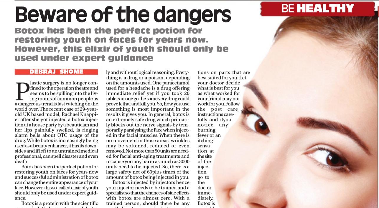 Beware Of The Dangers