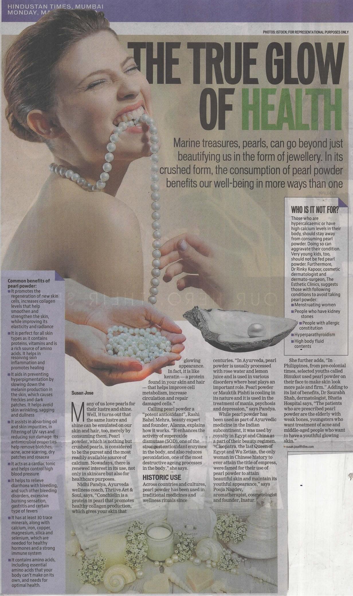 The True Glow Of Health - Hindustan Times