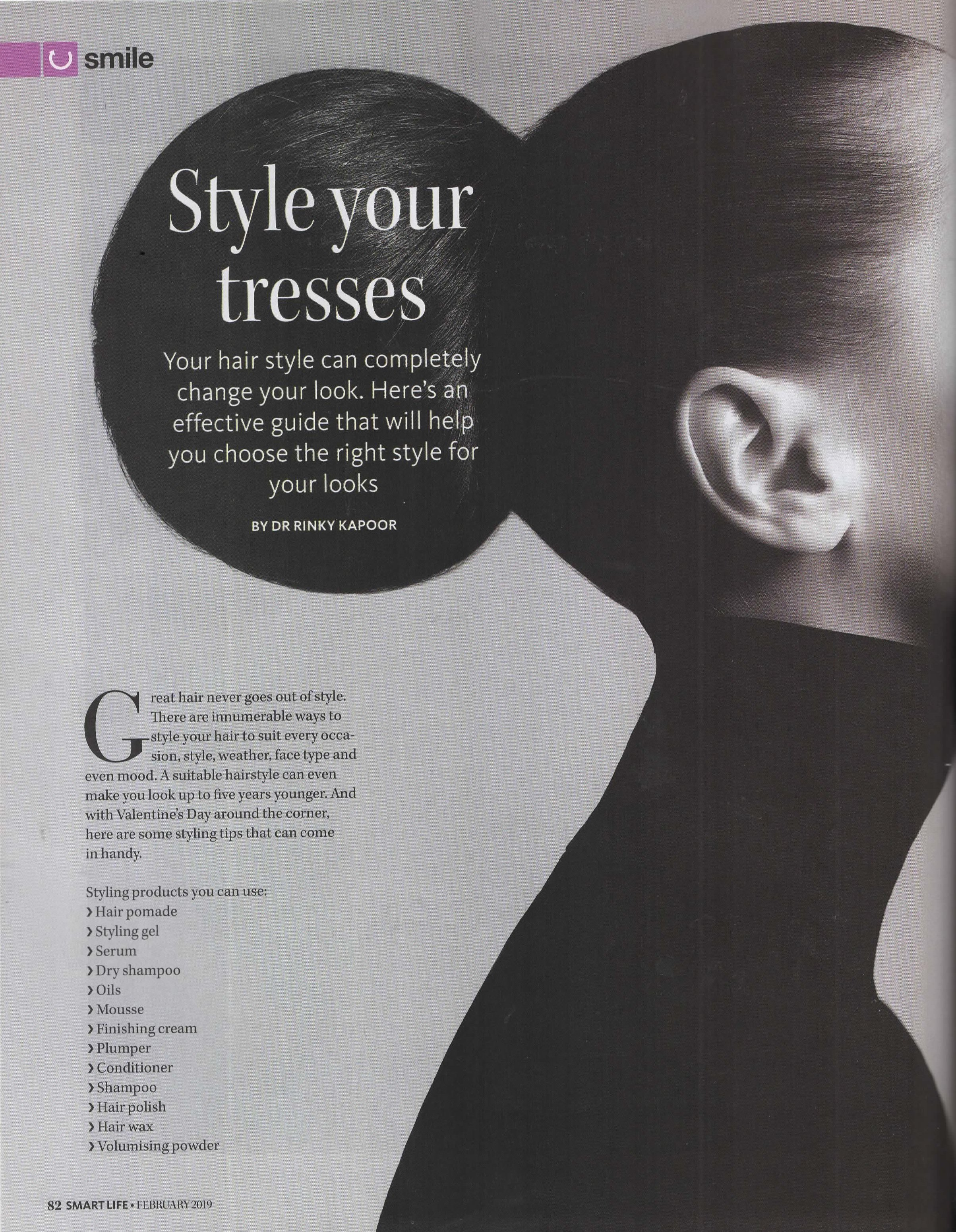 Style Your Tresses - Smart Life
